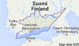 Etelä-Suomen lääni viehekalastusmaksu 2015 Lupa-aluekartta