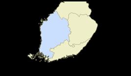 Länsi-Suomen lääni viehekalastusmaksu lupa-aluekartta