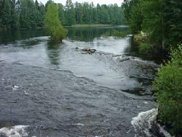 Heinaveden Reitin Kosket Kunnostettu Kalastuksen Saatelylla
